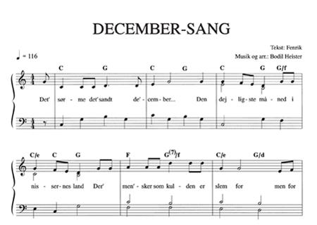 December-Sang